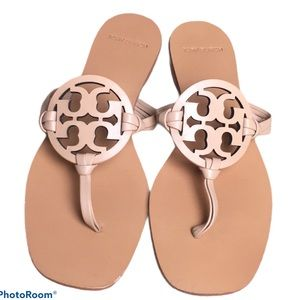Tory Burch Miller Nude Sandals